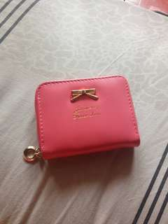 Dompet kecil soft pink