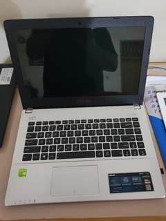 Laptop Asus A450L i5 ram 4gb