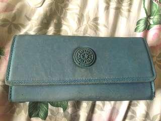 Kipling blue wallet