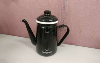 Rosle 黑色琺瑯壺 水壺 咖啡壺 1.1L
