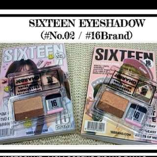 Viral Sixteen eyeshadow
