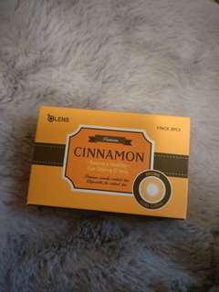 Olens cinnamon contact lenses