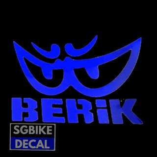 Blue Reflective Berik