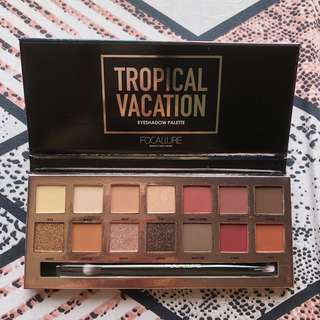 Focallure Tropical Vacation Eyeshadow Palette