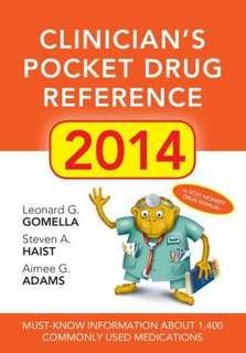 Clinician's Pocket Drug Reference 2014