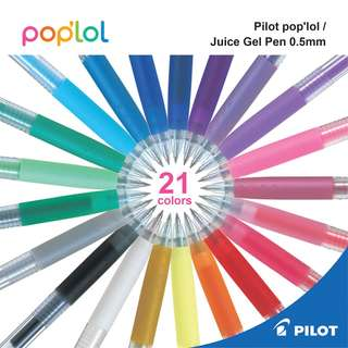 Pilot pop'LoL /Juice Gel Pen - 0.5 mm -21 COLOR SET