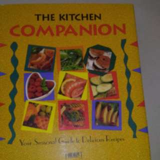 "'Kitchen Companion"" Hardcover Cook Book"