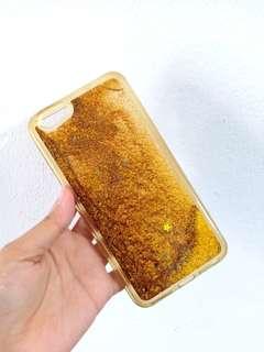 Preloved case bling bling sparkle glitter oppo f1s