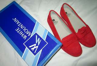 SUEDE RED CHILI TOP SIDER
