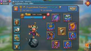 Sell Lord mobile 192mil (25 June 2018) offer me