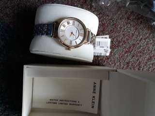 Authentic anne klein round watch