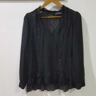 Zara black outer
