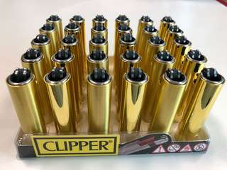 GOLD Clipper Lighter *Limited