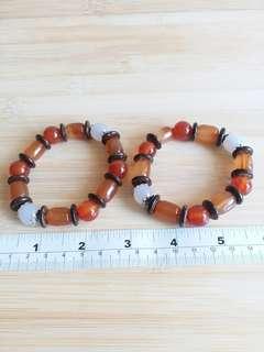瑪瑙珠手串, 單條78元兩條一百一十元