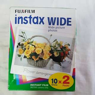 FUJI INSTAX WIDE FILM