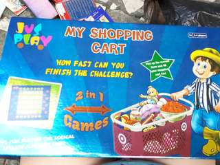 Shopping boardgame for kids