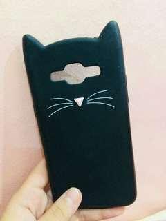 Samsung J5 Pussycat Black Case