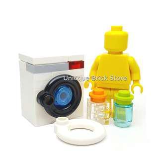 🚚 [Unicque] Lego Minifigure Accessory (MOC) - Laundry Washing Machine #caroupay