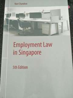 Employment Law in Singapore 5th Edition