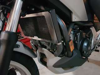 Nc750/700 Radiator guard