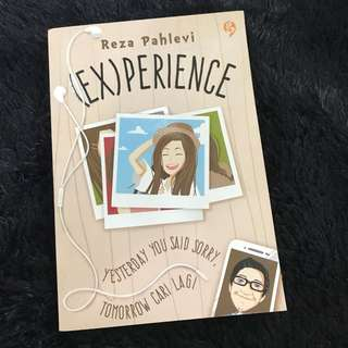 [ PRELOVED ] Experience by Reza Pahlevi