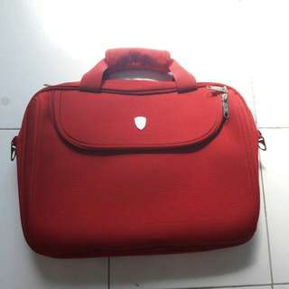 Tas laptop Tonino Lamborghini Red original