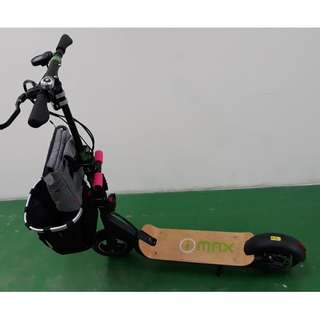 electric scooter with hydraulic brakes