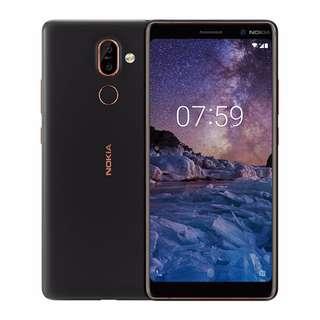 $20 /1張, $30/2張 Nokia 7 Plus高清防指紋9H 強化玻璃保護貼