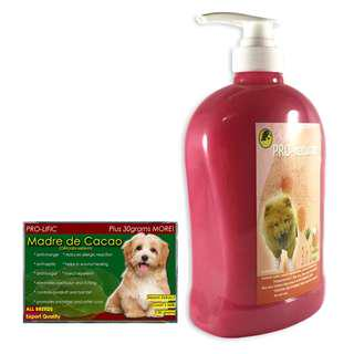 Pro-naturale 3 in 1 dog and cat shampoo 1000 mL (Raspberry)& soap