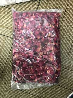 Natural real rose petals - 250g