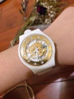 白金Swatch 手錶 不議價