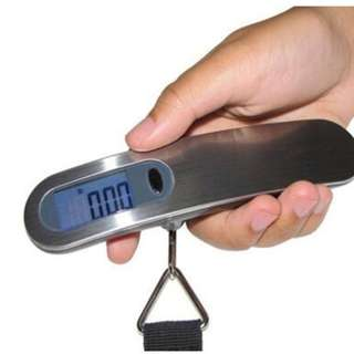 Portable Digital Hanging Luggage Scale for Travel Max 50kg B14906