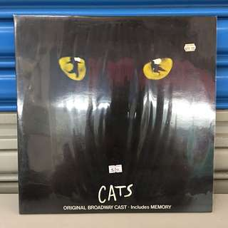 "CATS Original Broadway Cast Memory 12"" Gate Fold LP"