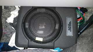 Azur 8unc Underseat Subwoofer with AMP(usia 3bulan)