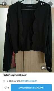 Outer/semi blazer (reprice)
