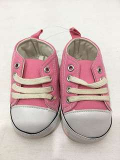 Converse Pink and White
