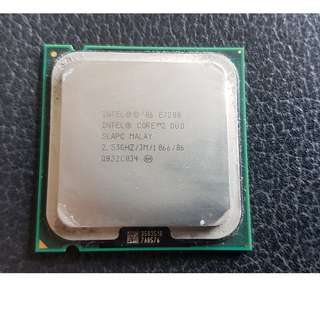Core™2 Duo Processor - Intel®  E7200 including cooling element