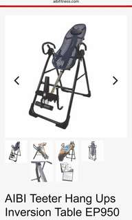 AIBI Teeter Hang Ups Inversion Table EP950
