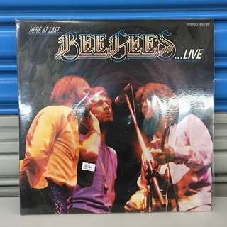 "Bee Gees...LIVE 12"" Gate Fold LP"
