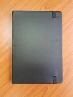 Note Book (Black Synthetic Leather Cover)
