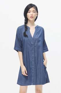 Cotton ink dress