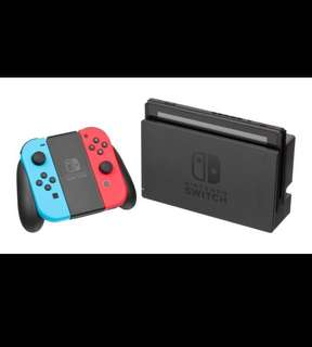Nintendo Switch Neon Con