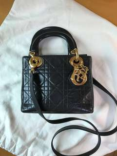 Lady Dior mini size (100%authentic, 85%new)