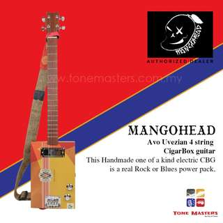 Mangohead Avo Uvezian 4-String Cigarbox Electric Guitar