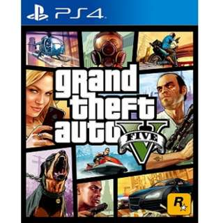 Playstation PS4 GTA 5