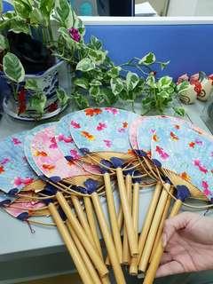 Japanese style hand fan
