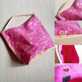 BN Anna Sui Romantica Bucket Tote Bag (Pink)