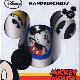 Mickey Mouse Handkerchief Set of 3