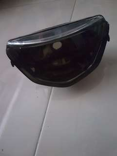 125 tinted head light
