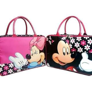 Mickey flower kanvas gambar 2 sisi